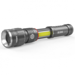 Nebo Slyde King Rechargeable Flashlight - Smoke Grey