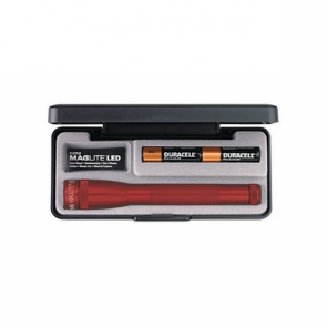 Maglite LED AA with Batteries and Gift Box - Red