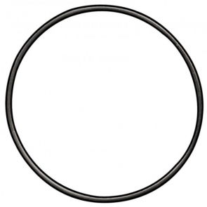 Maglite C Tail Cap O-Ring Replacement Part - Black