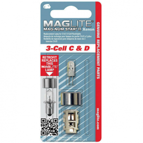 Maglite Mag-Num Star II C / D Xenon Bulb Replacement Part